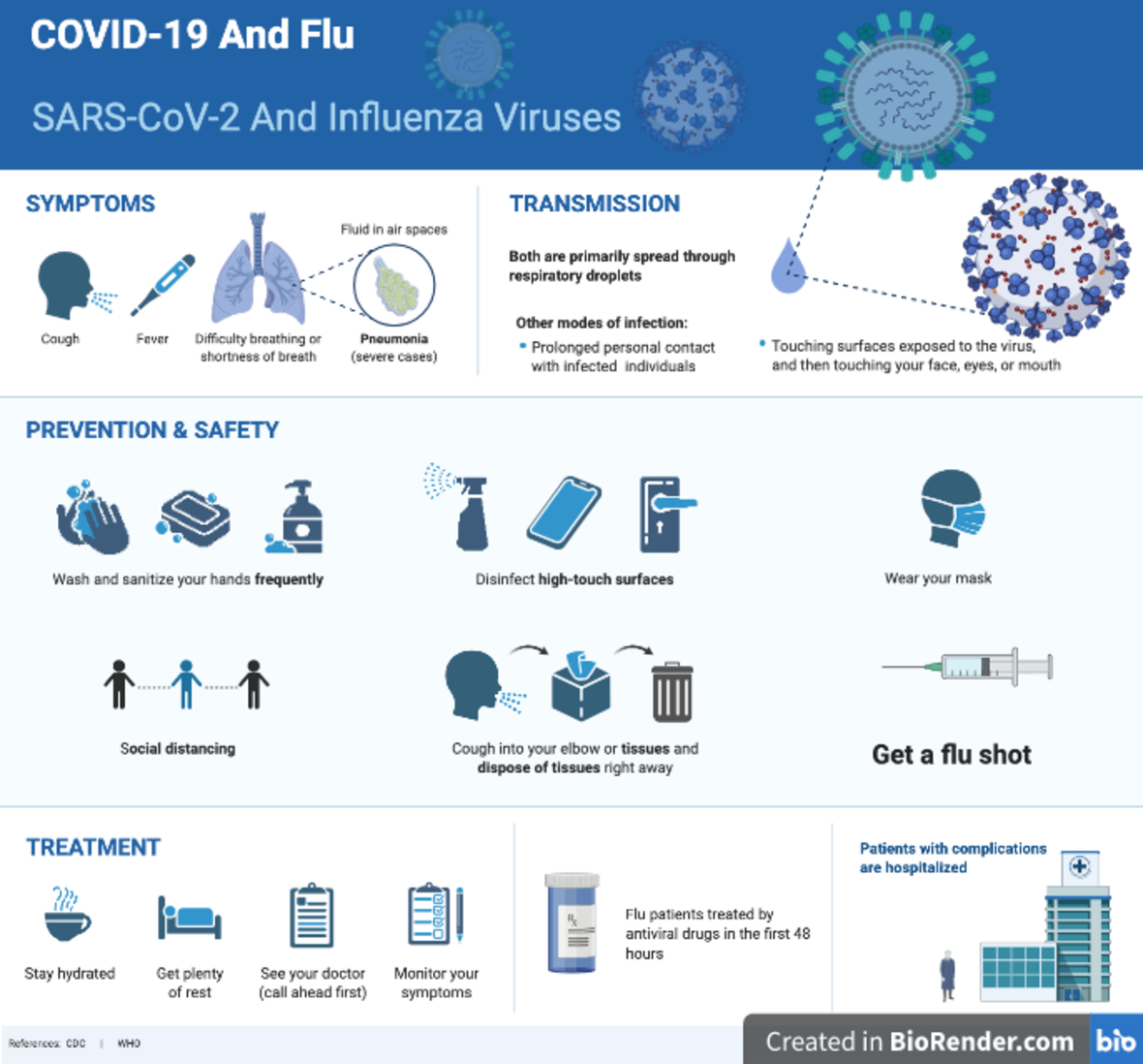 COVID-19 and Flu Safety Guidelines