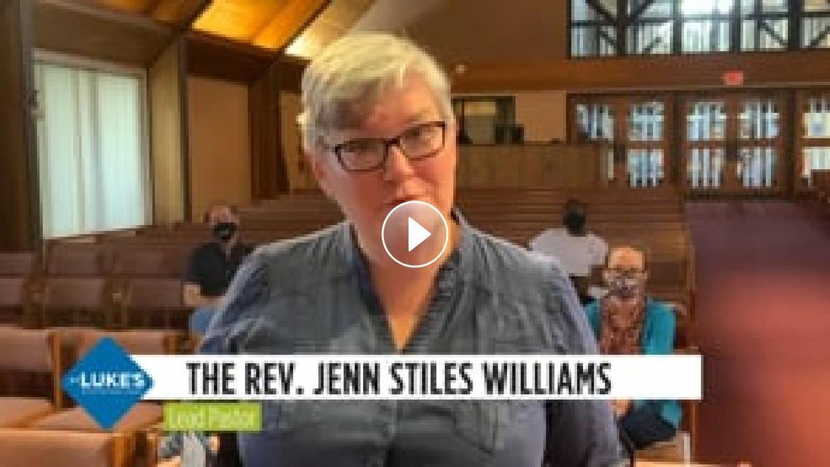Pastor Jenn invite to on-campus worship video link