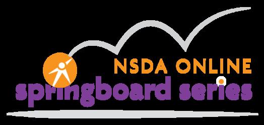 NSDA Online Springboard Series logo
