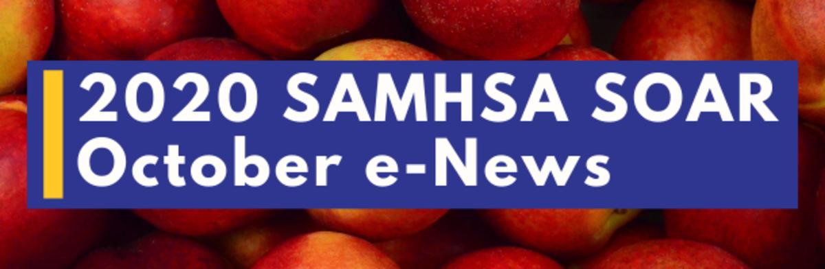 2020 SAMHSA SOAR October eNews
