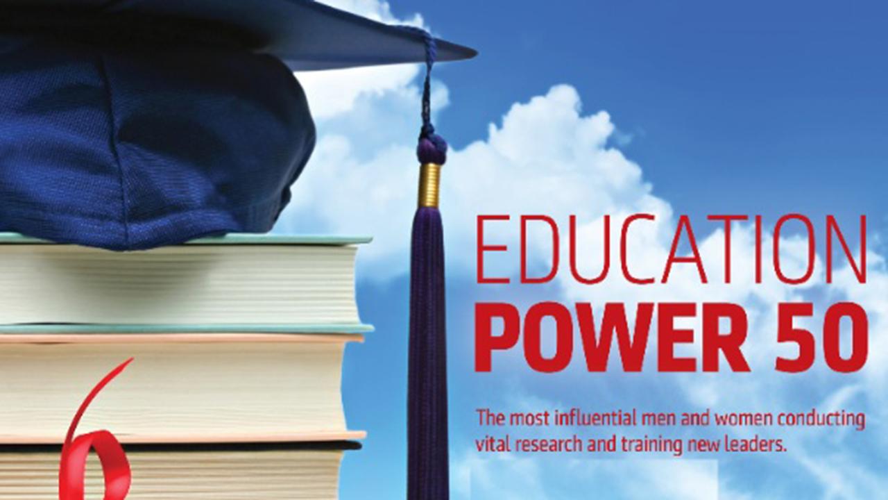 NJBIZ Education Power 50 index