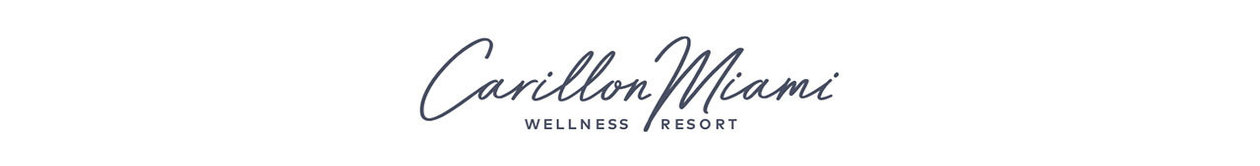 Discover Touchless Wellness at Carillon Miami Wellness Resort