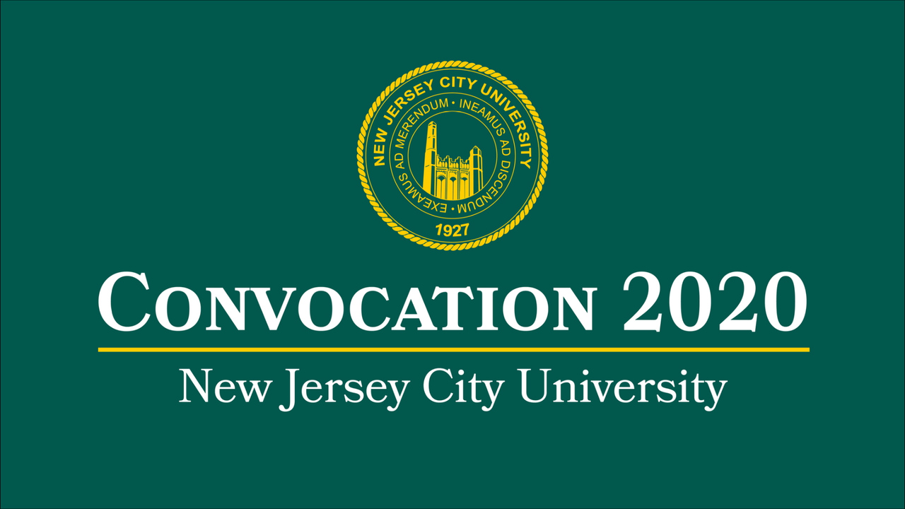 2020 Convocation title page