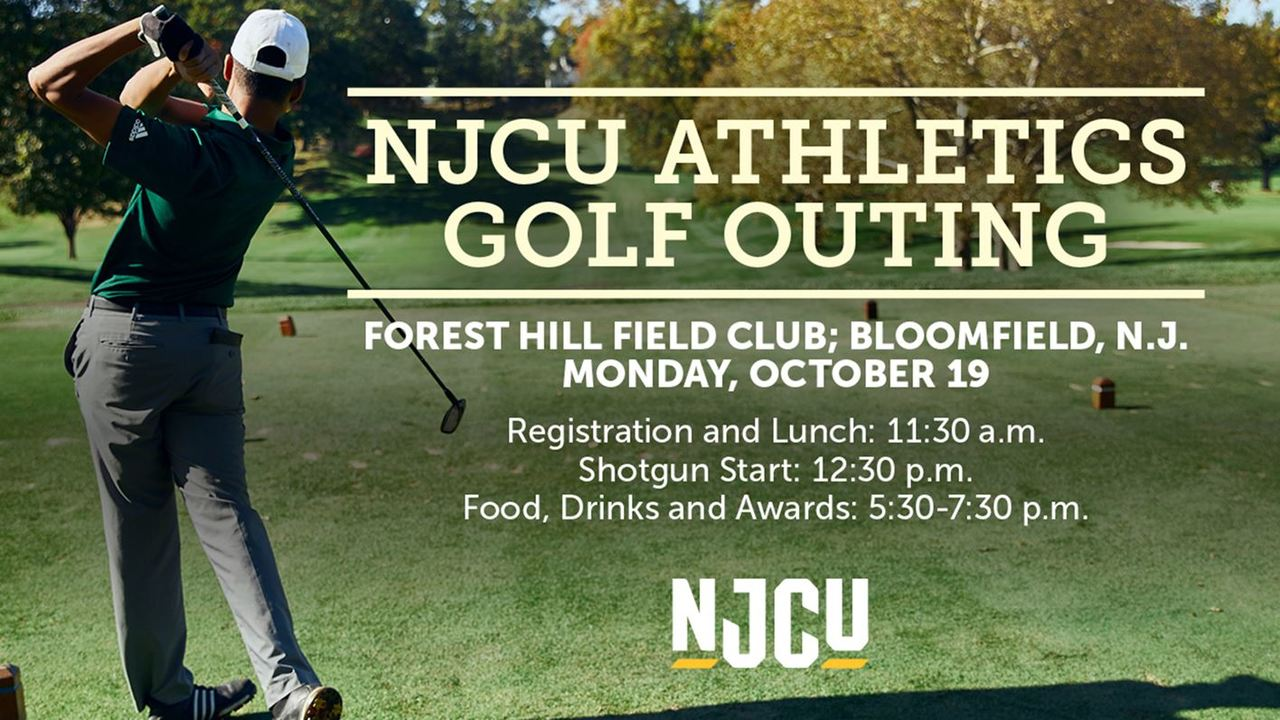 NJCU Golf Outing Promo graphic