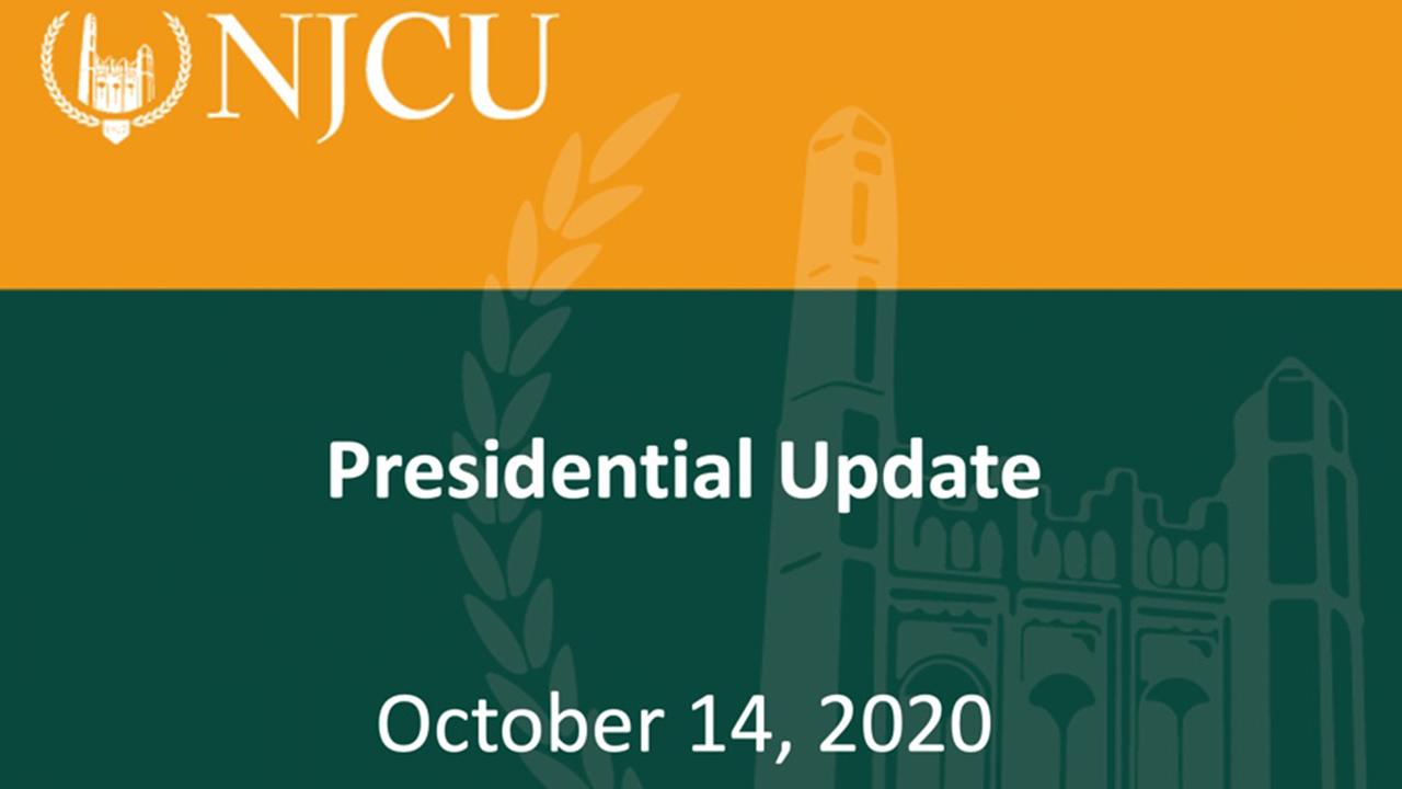 Presidential Update on October 14