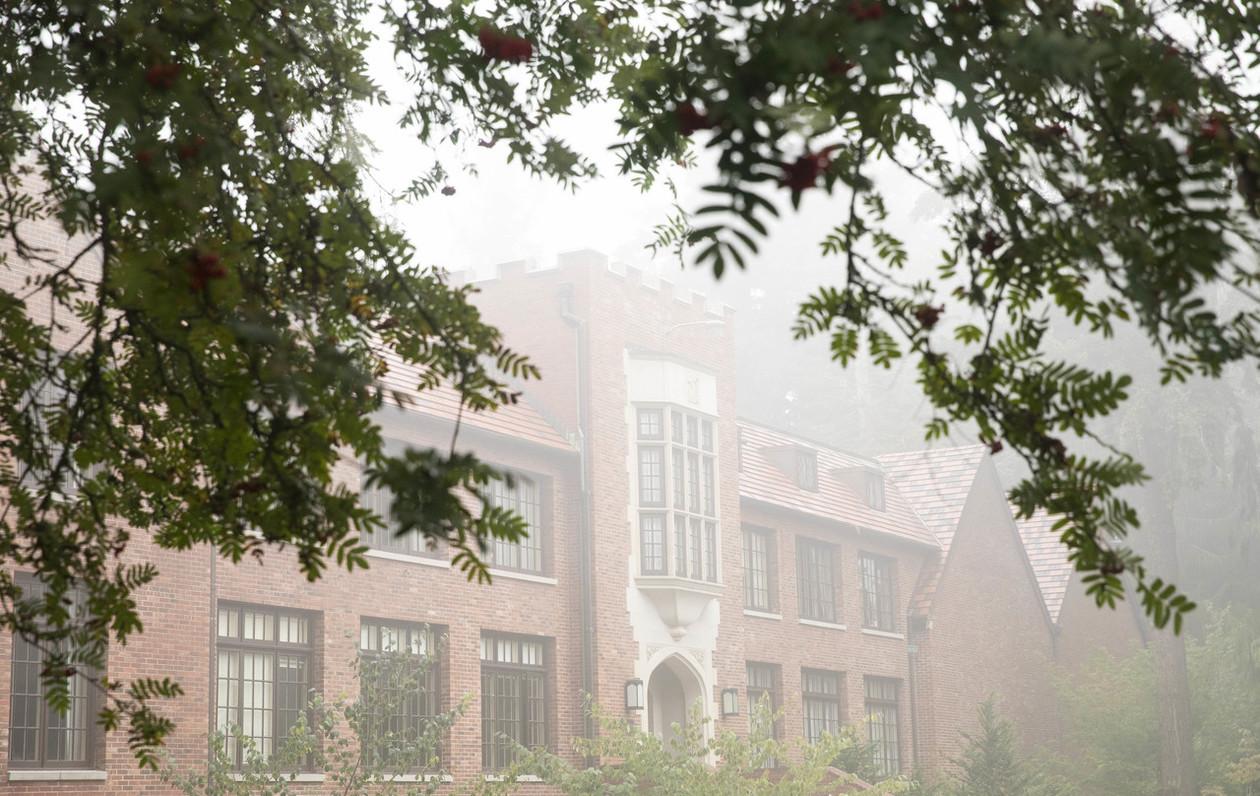 foggy Jones Hall