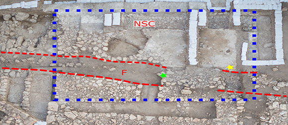 Canaanite palace archaeology site