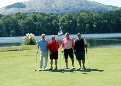 ER Snell at FODAC Golf Tournament