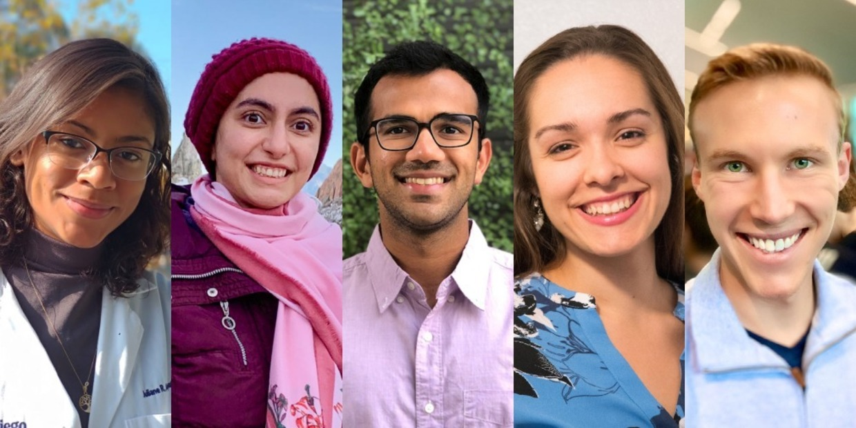 Five Siebel Scholars