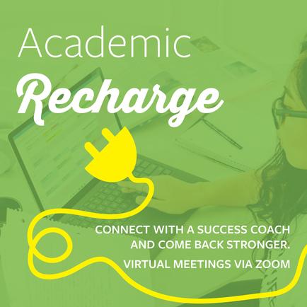 Academic Recharge Graphic