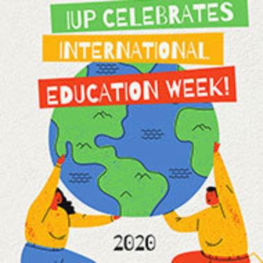 IUP International Education Week logo