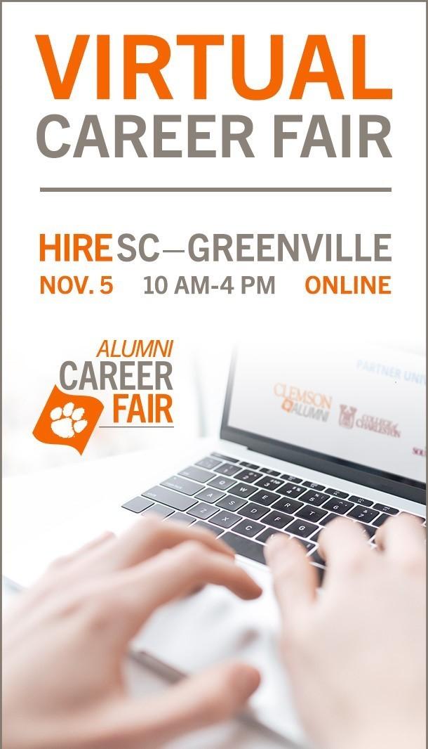 Virtual Career Fair-Nov. 5 1-am-4pm online