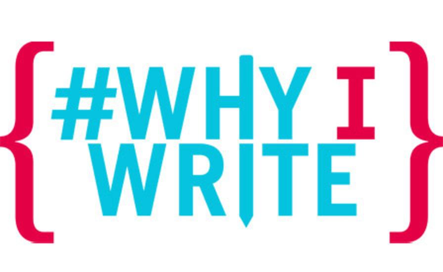#WhyIWrite logo