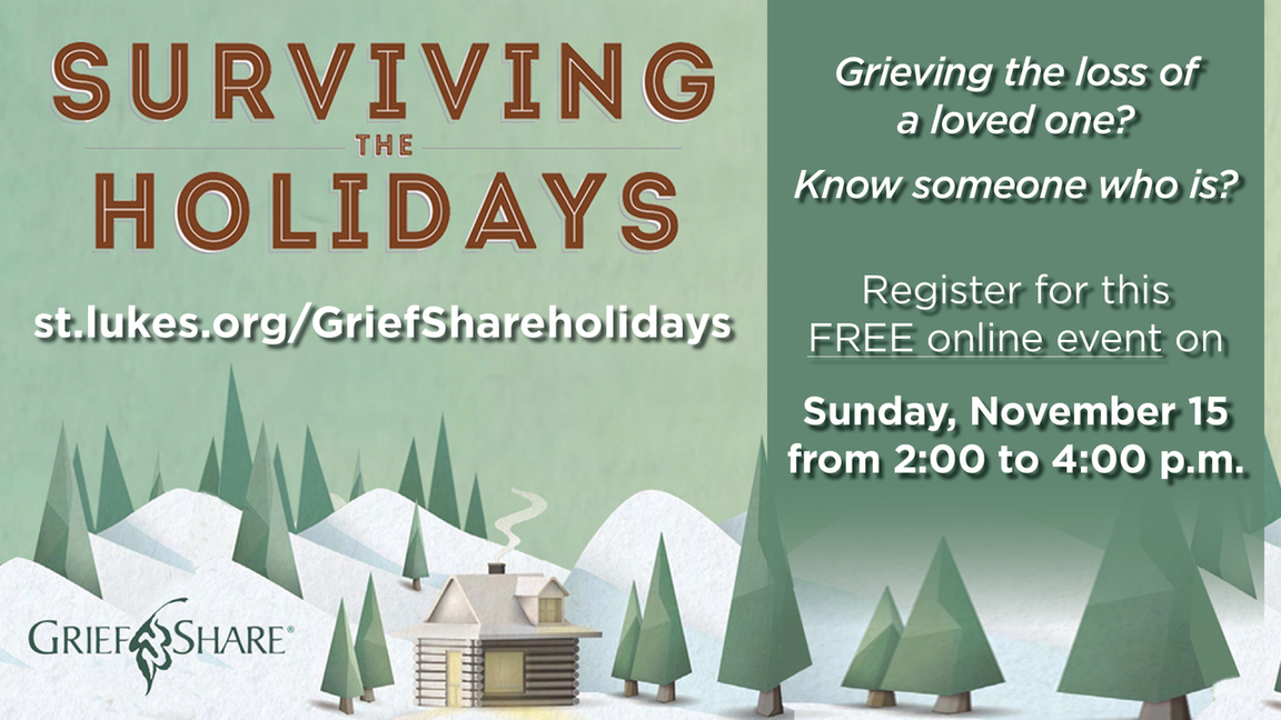 Surviving the Holidays Arena registration webpage