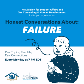 Honest Conversations: Failure Every Monday at 7pm