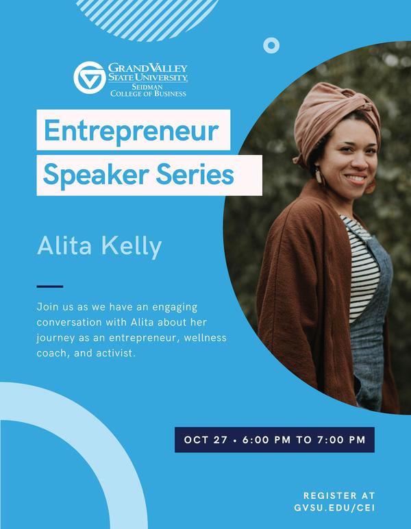 Entrepreneur Speaker Series - Alita Kelly