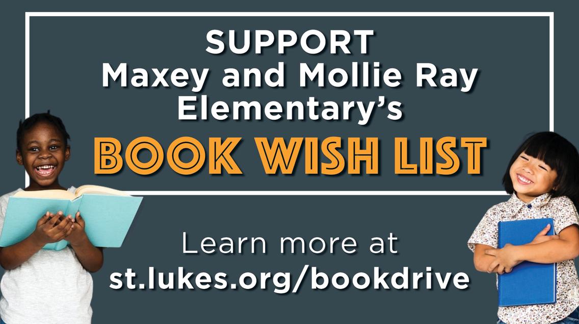 Book drive webpage link
