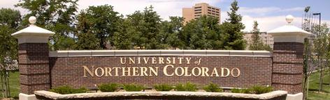 Campus gate at UNC