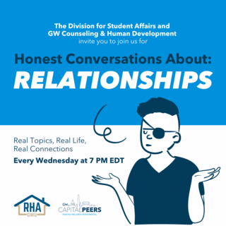 Honest Conversation:Relationships Every Monday at 7pm