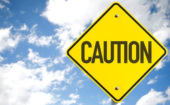 Caution sign image
