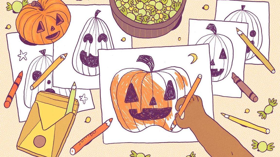 Pumpkin hunts webpage link