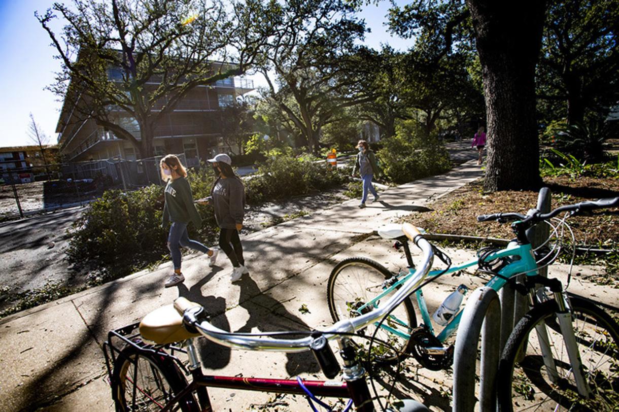 Tulane campus