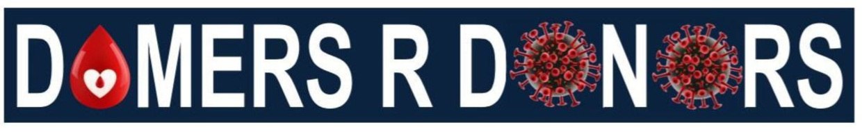 Logo that reads Domers R Donors