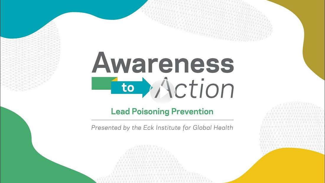 Lead Poisoning Prevention video. Click to play video.