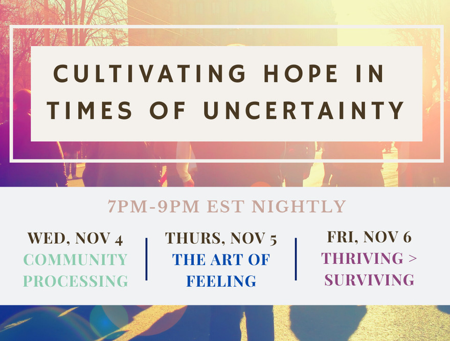 Cultivating Hope in Times of Uncertainty
