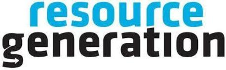 Resource Generation text logo