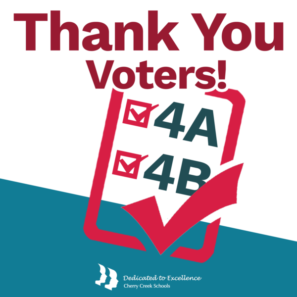 Thank you voters