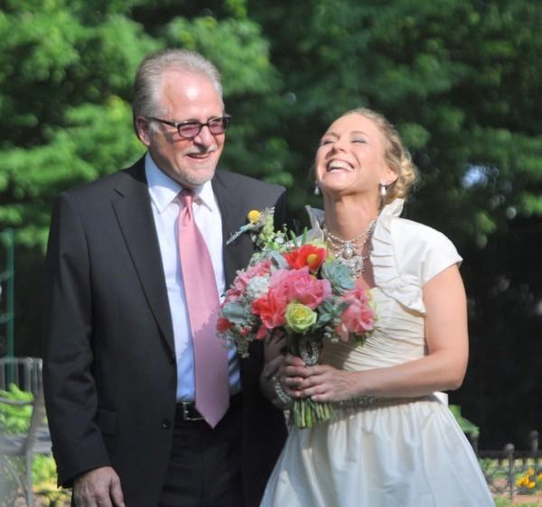 Gordy Erickson & his daughter at her wedding