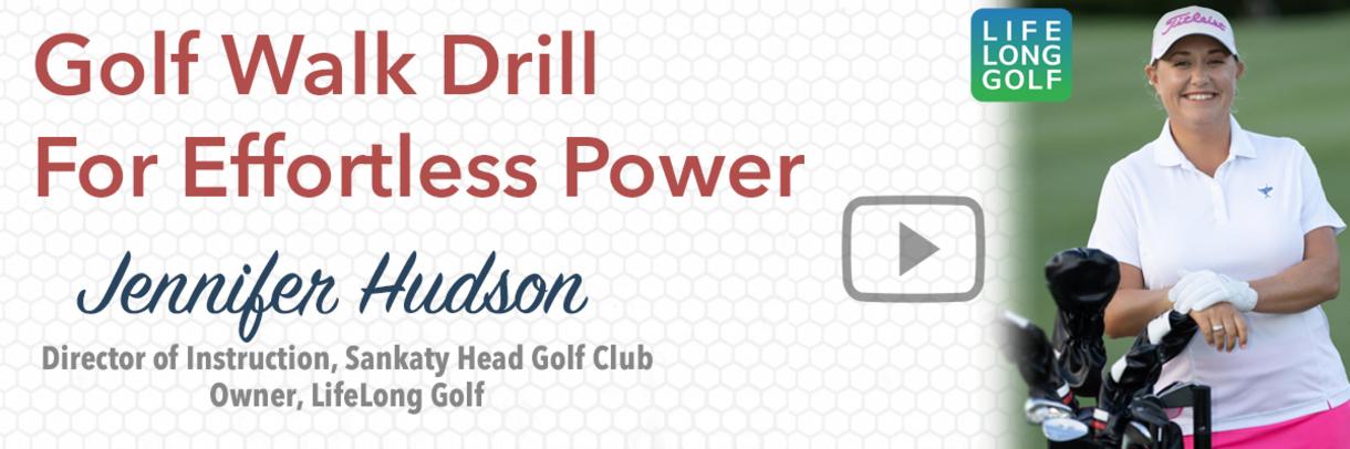 Golf Tip: Effortless Power