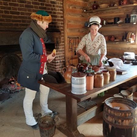 Foods & Feasts of Colonial Virginia