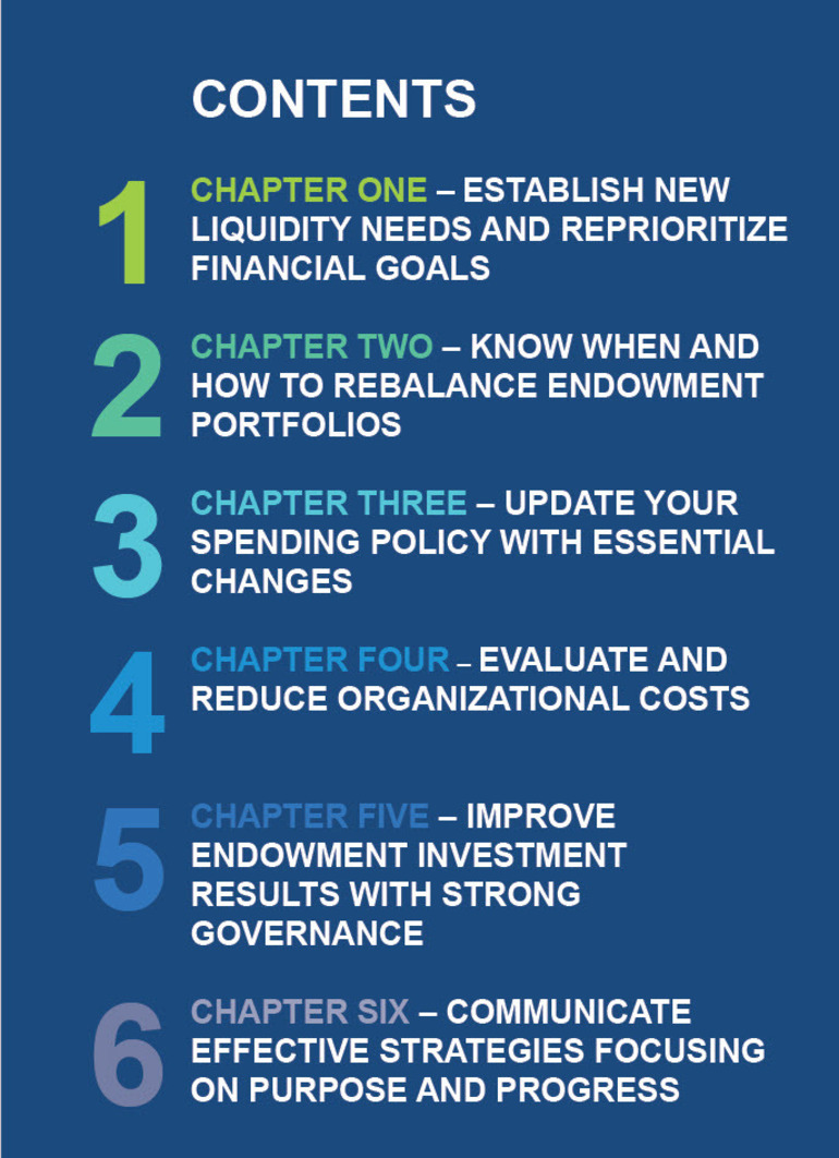 Six Tips to Managing Endowment & Foundation Investments