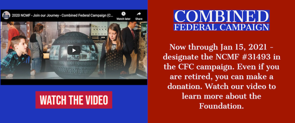 You can now donate to the NCMF via the Combined Federal Campaign. Designate #31493