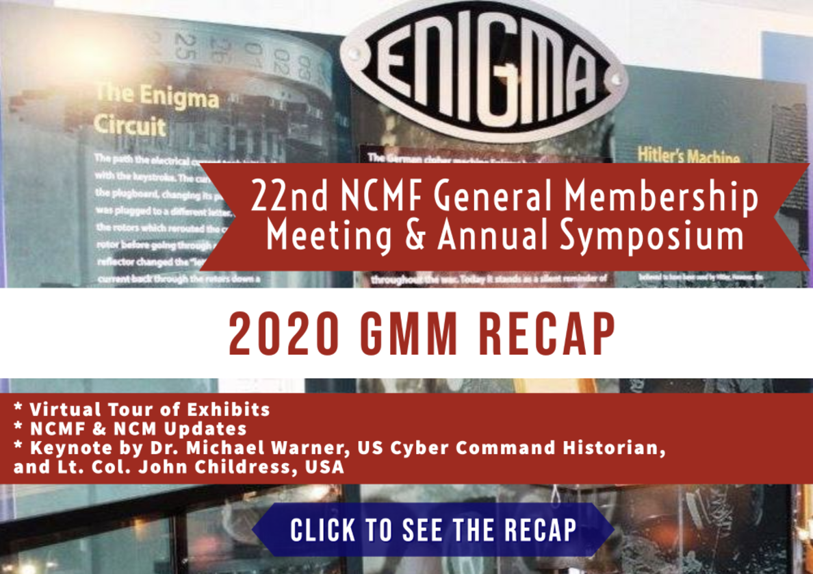 Missed the NCMF Meeting & Annual Symposium on 22 October? Check out the recap page with highlights summary.