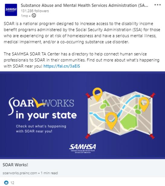 SOAR LinkedIn Post 1: SOAR in your state