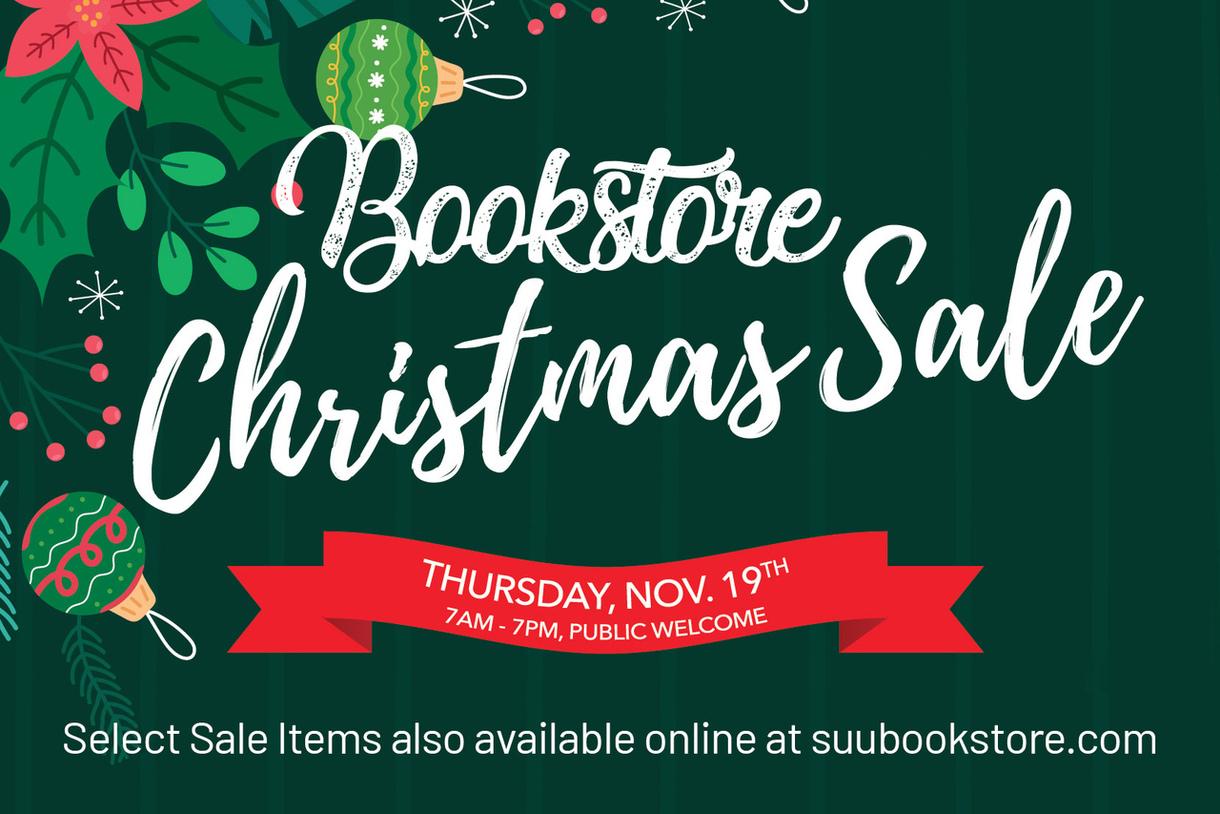 SUU Bookstore Christmas 2020 Sale
