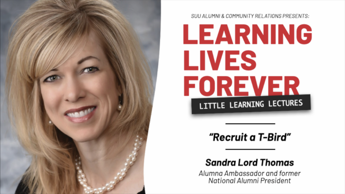 Sandra Lord Thomas Little Learning Lecture