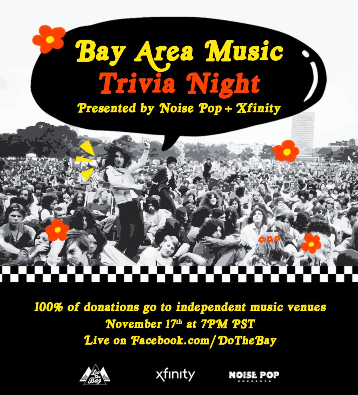 Bay Area Music Trivia Night