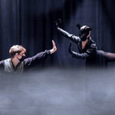 Scene from dance performance