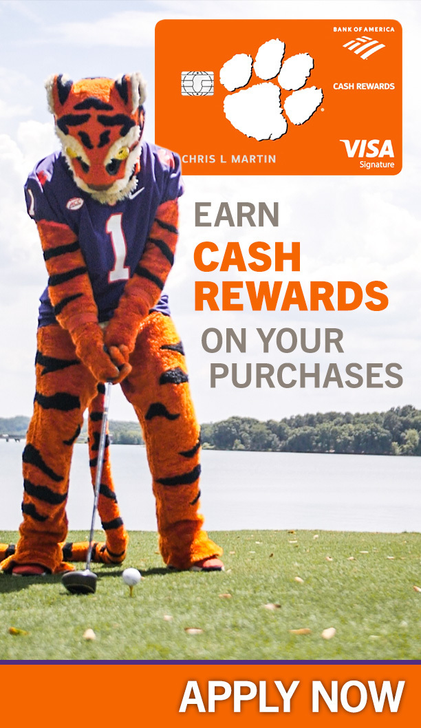 Bank of America-Earn Cash Rewards on Your Purchases