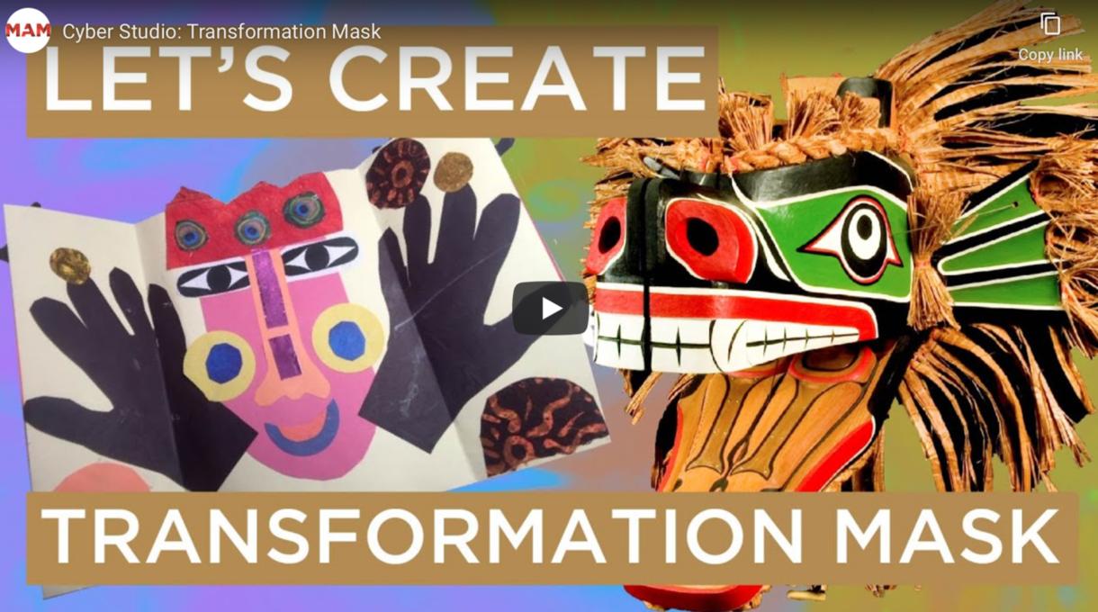 MAM Cyber Studio: Transformation Mask