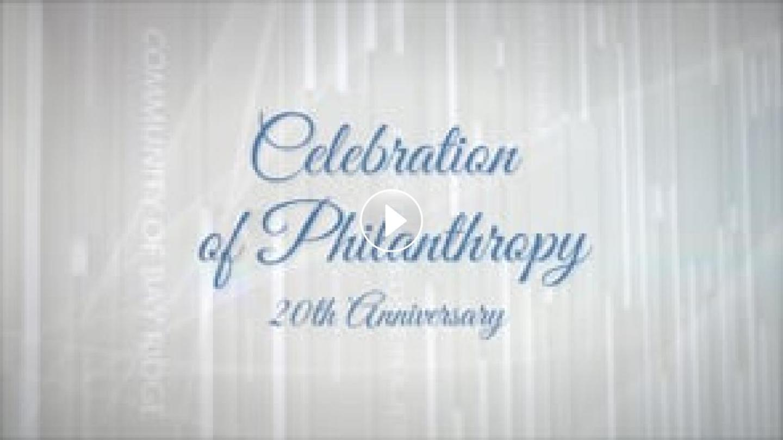 2020 Celebration of Philanthropy Awards Video