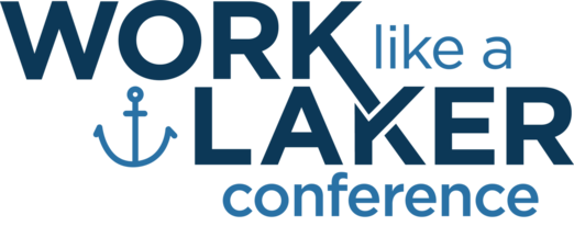 Work like a Laker conference logo