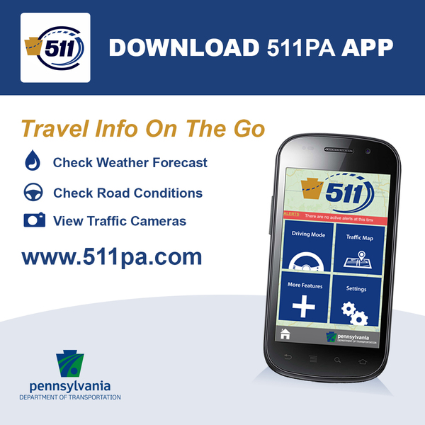 Download the 511PA App graphic