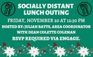 Socially Distant Lunch Outing