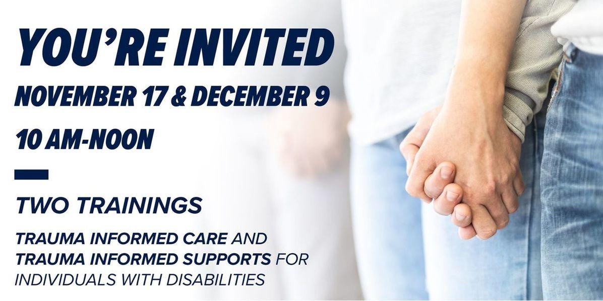 You're Invited: November 17 & December 9