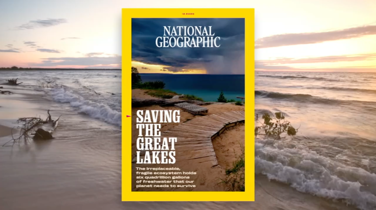Saving the Great Lakes cover